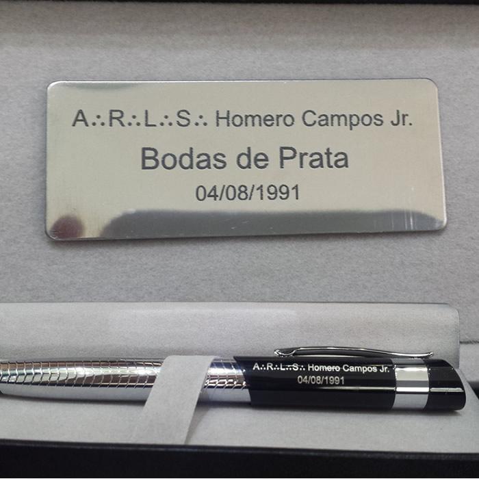 BRINDES PERSONALIZADOS ARLS HOMERO CAMPOS JR